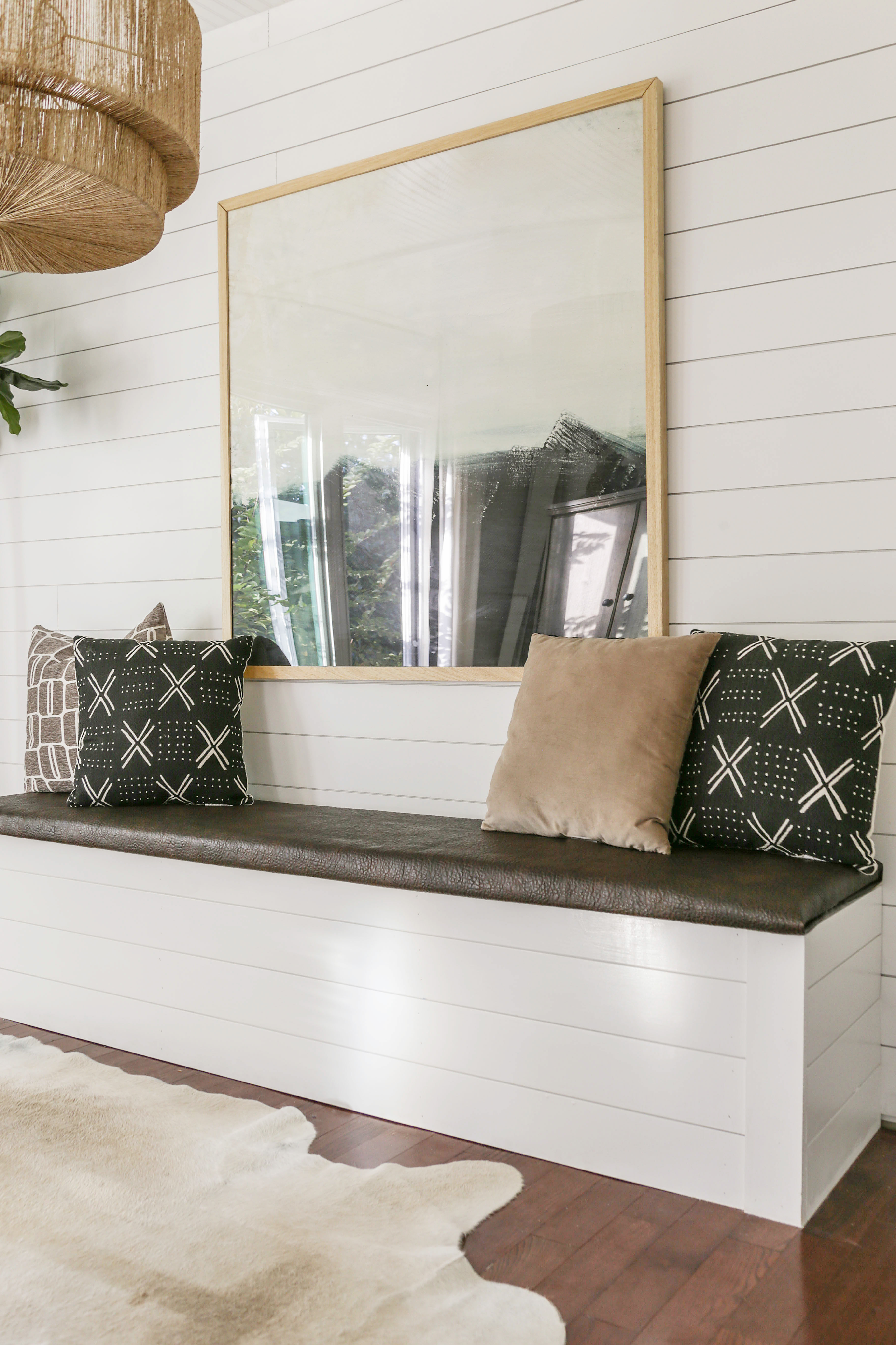 diy dining nook bench with storage