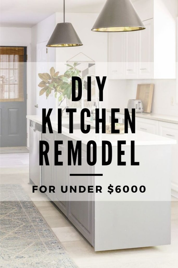 How I remodeled my kitchen on a low budget