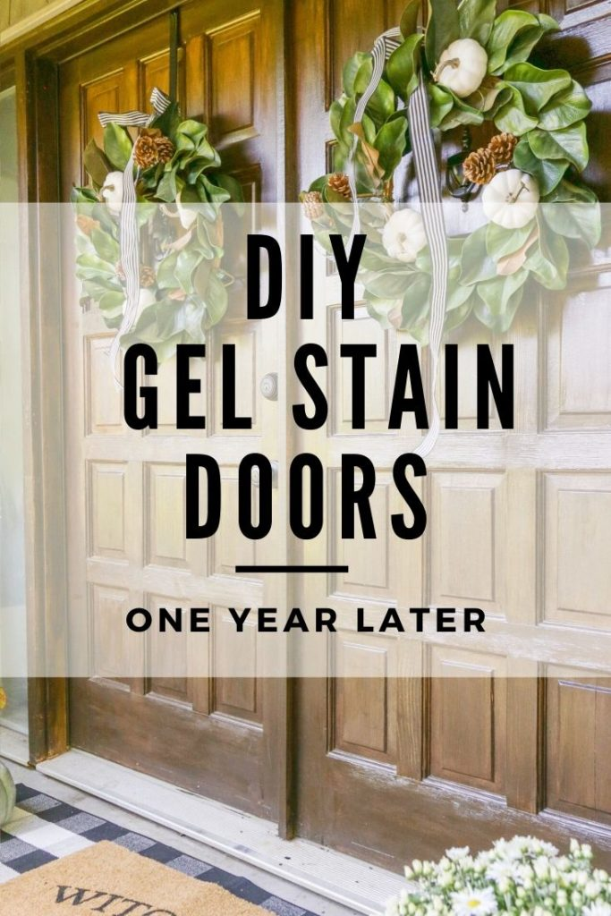 diy gel stain doors review