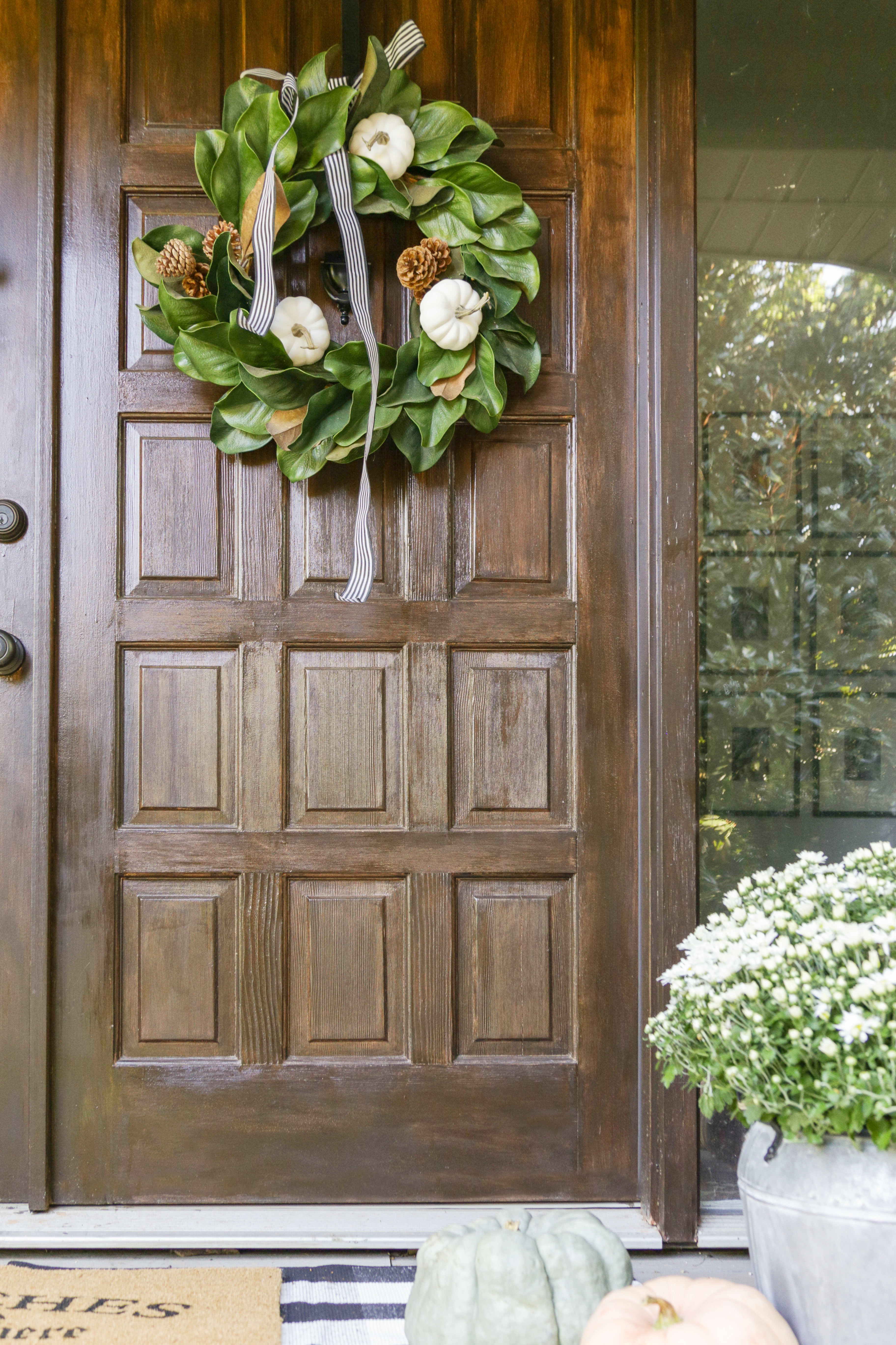 My Gel Stained Front Doors: One Year Follow-up Review