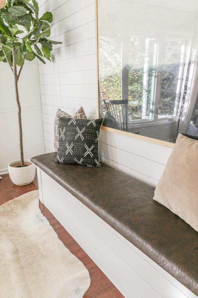 diy upholstered bench tutorial