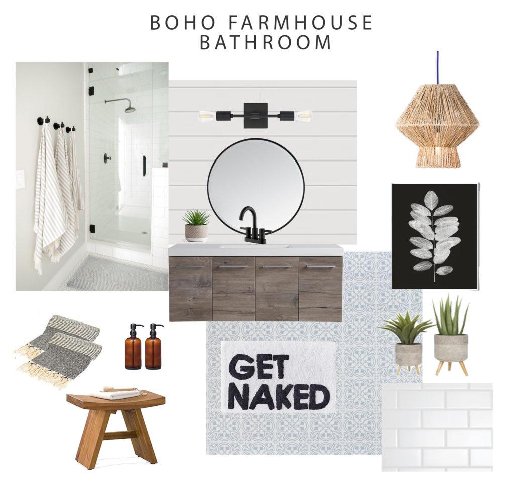 boho farmhouse bathroom ideas