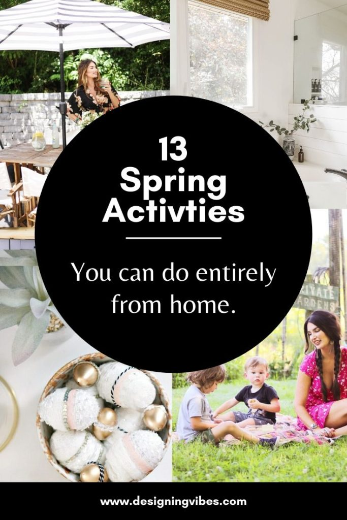 fun spring activities to do while stuck at home