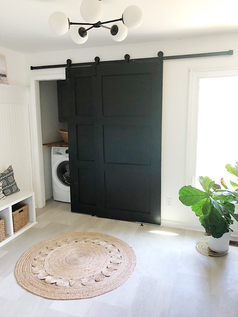 diy modern barn closet doors
