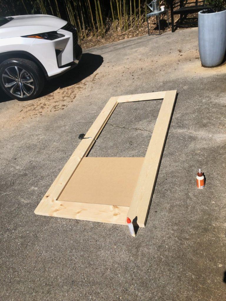 diy sliding barn door for bi fold closet