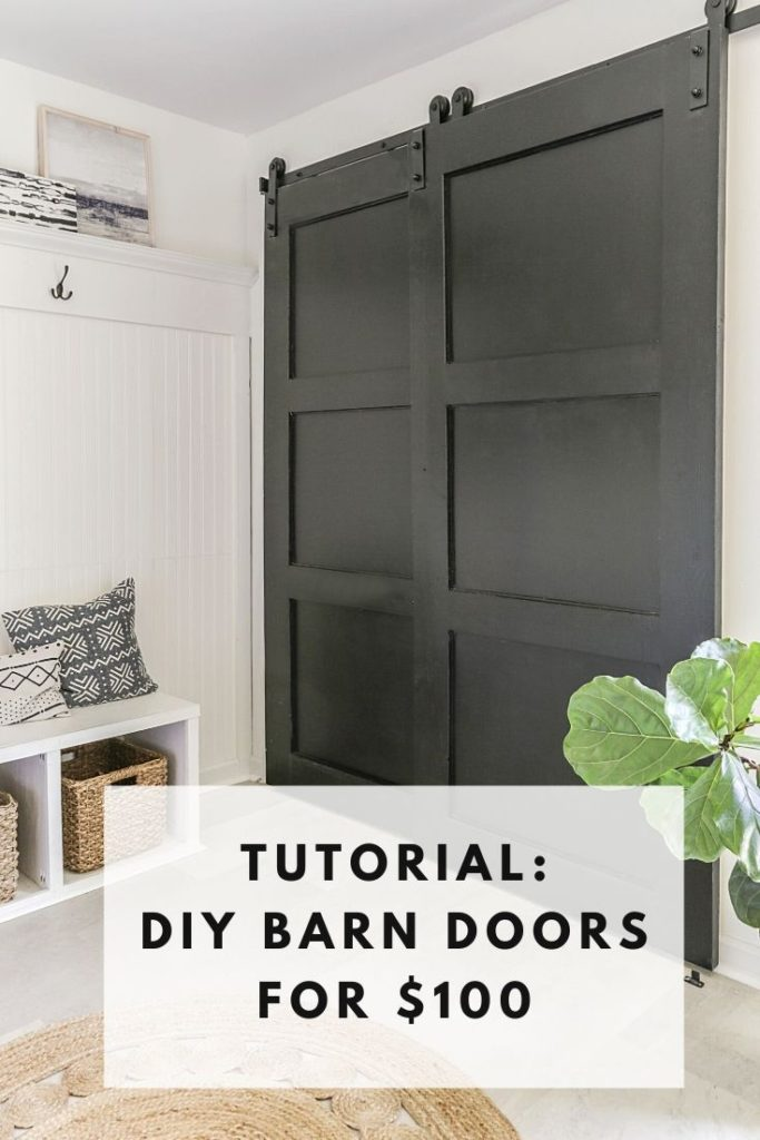 how to replace bi-fold closet doors with sliding barn door