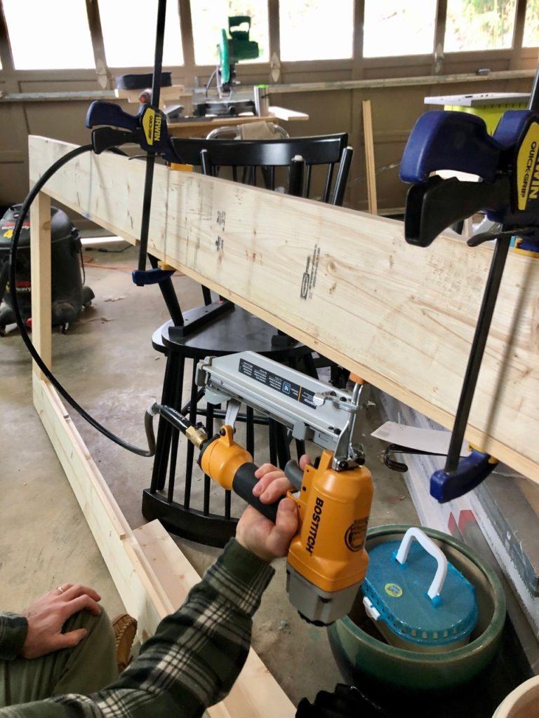 how to build modern farmhouse barn door