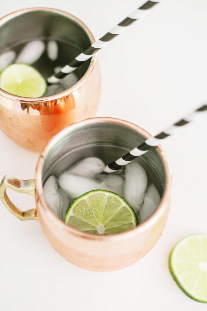 zero-sugar moscow mule recipe