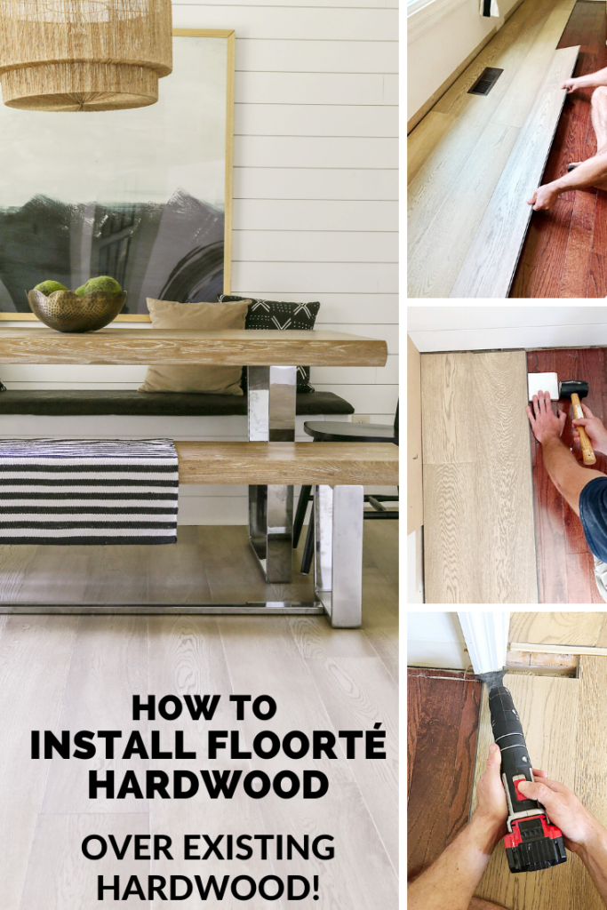 installing floating hardwood tutorial