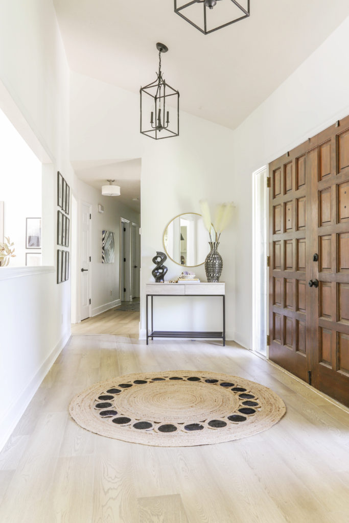 how to install hardwood over existing tile floors