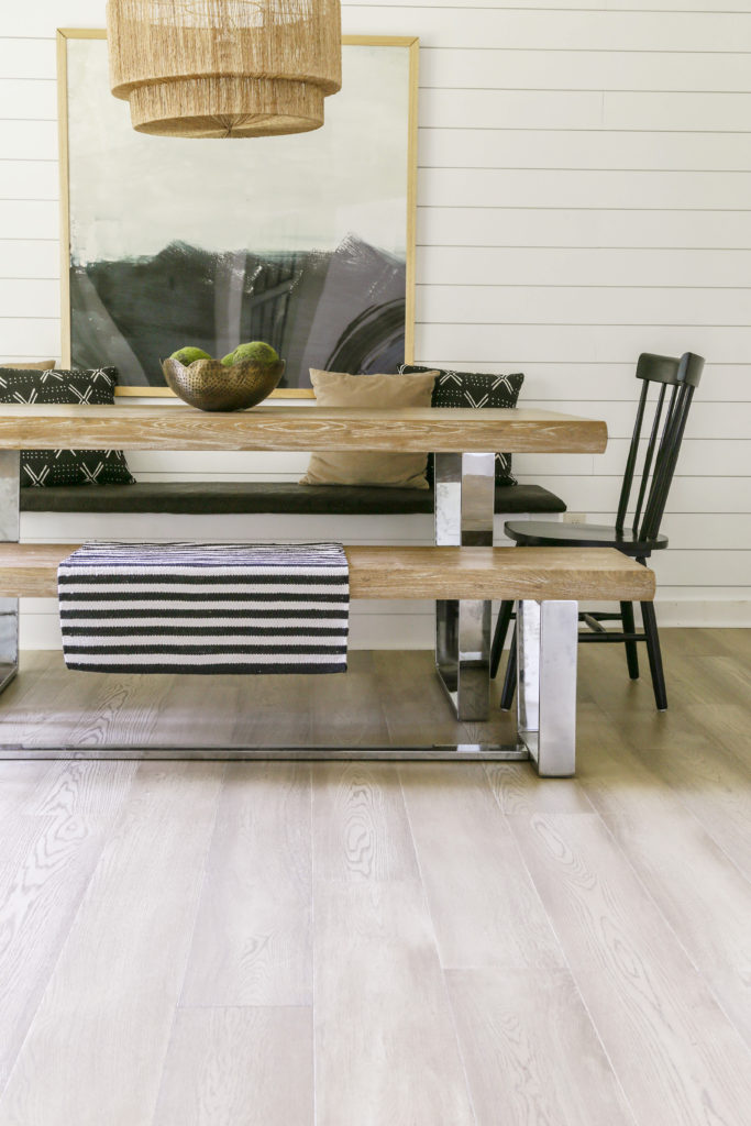 how to install floating hardwood over existing floors