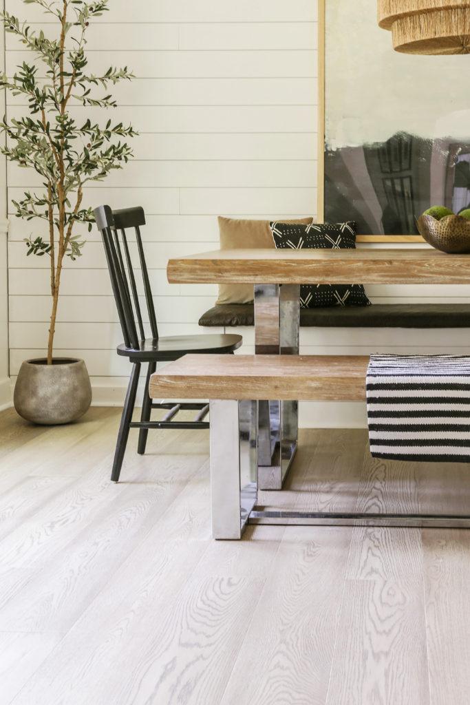 how to install Floorte hardwood floors over existing wood floors