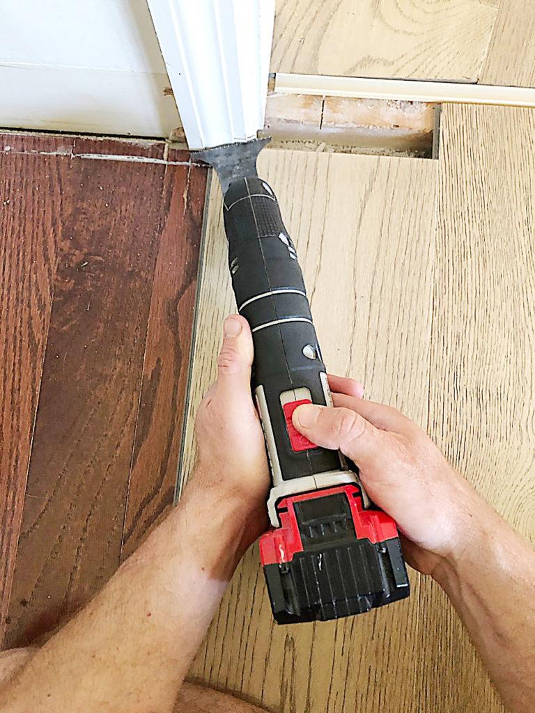 the easiest way to install floating hardwood flooring