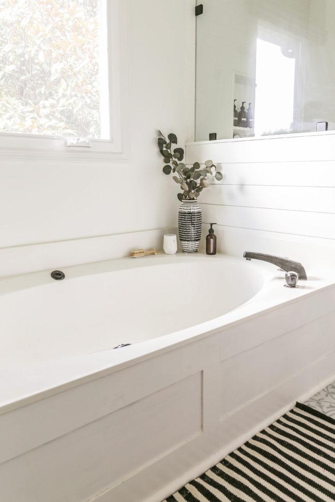 diy bath tub skirt transformation