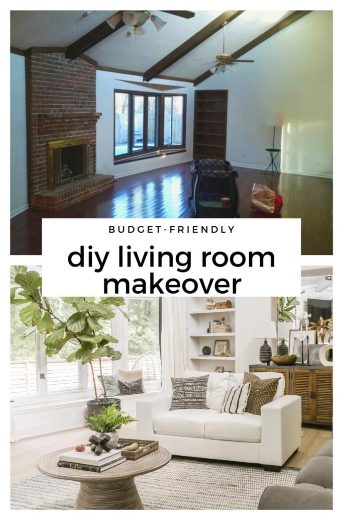 diy living room transformation