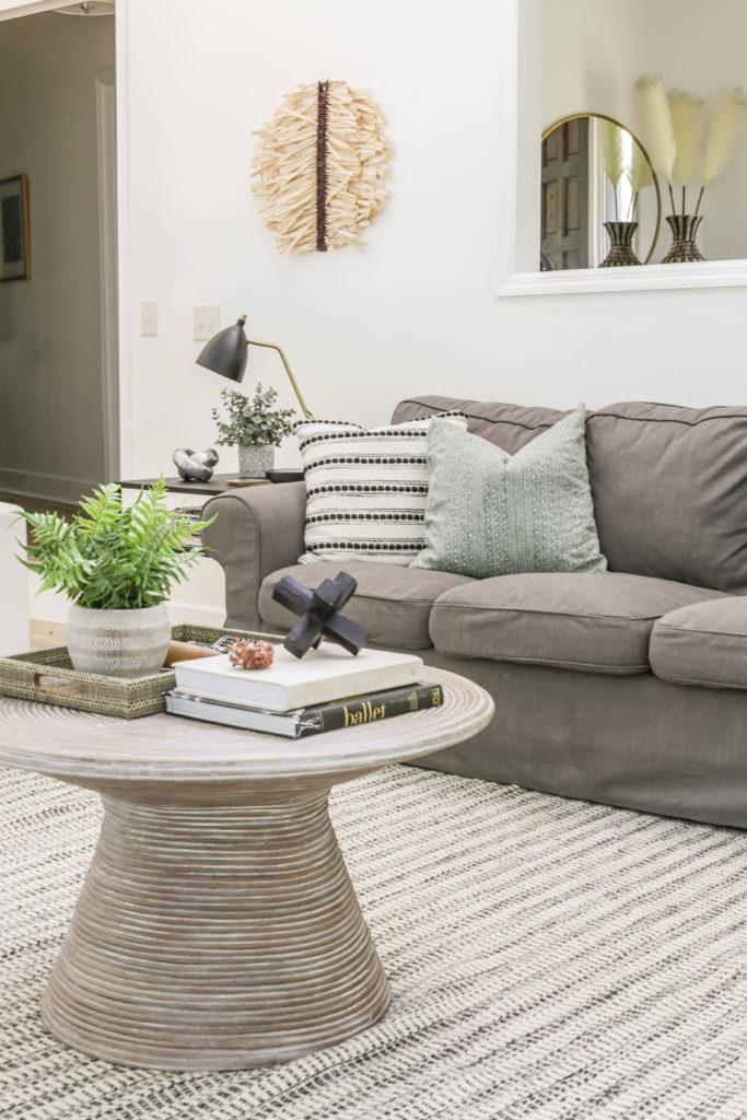 neutral organic living room ideas