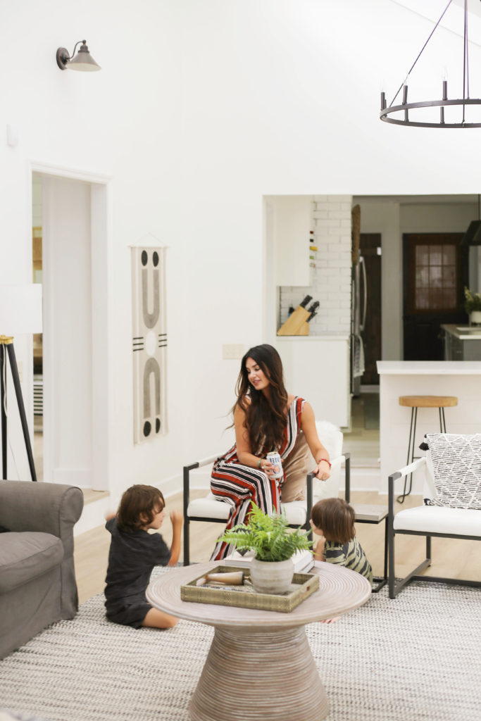 designing vibes modern organic living room transformation