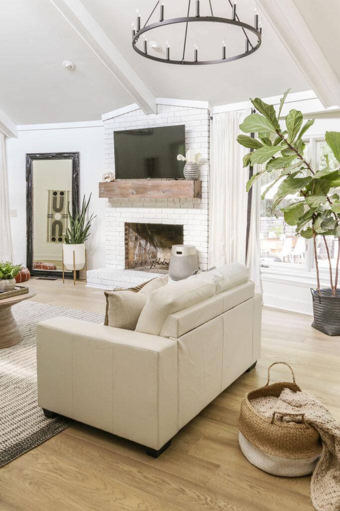 an honest review of Floorte floating hardwood floors