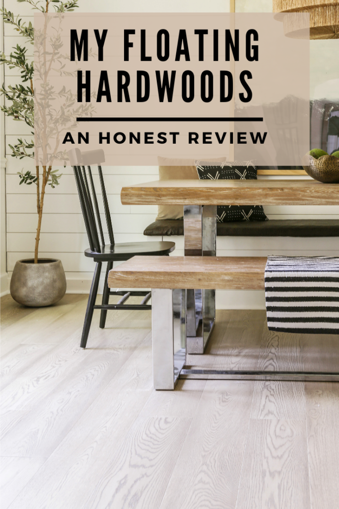a review of my floating hardwoods