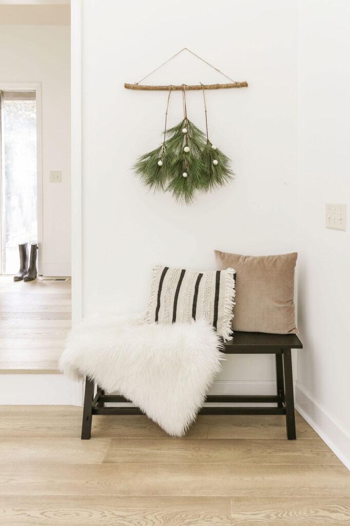 christmas decor diy wall hanging