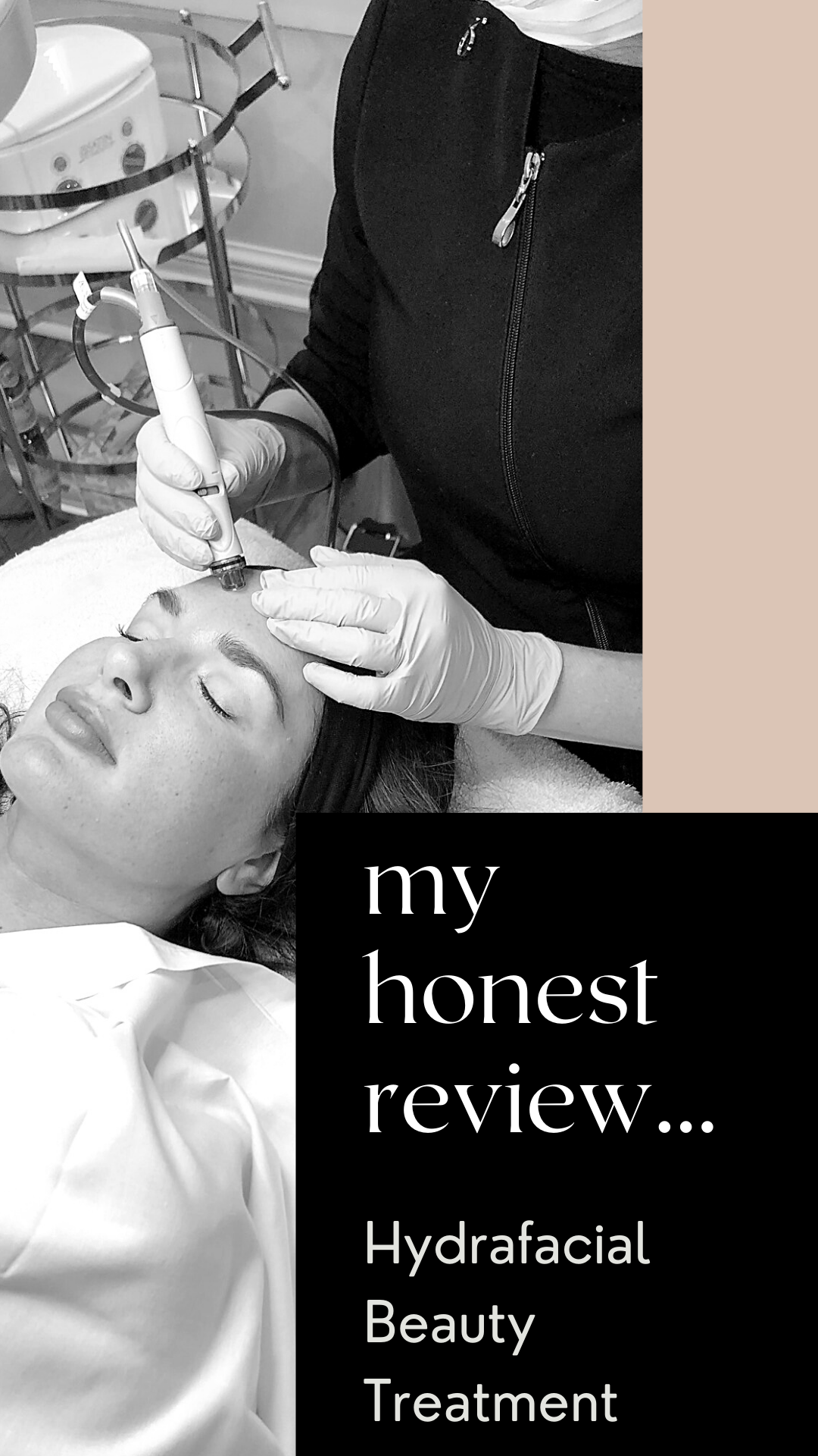 Hydrafacial beauty treatment review