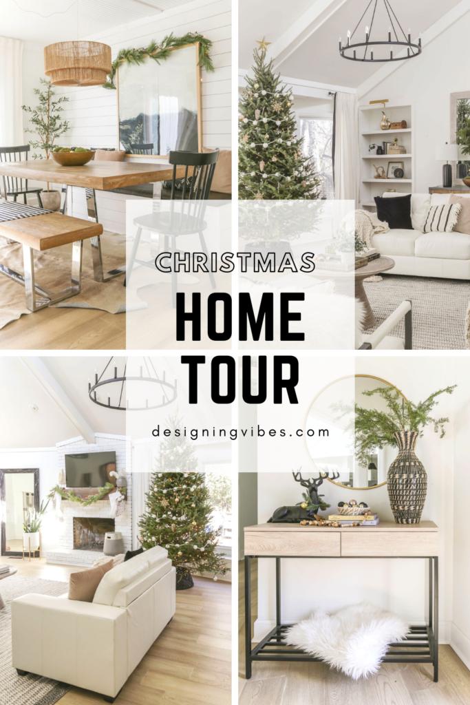 neutral glam christmas home tour