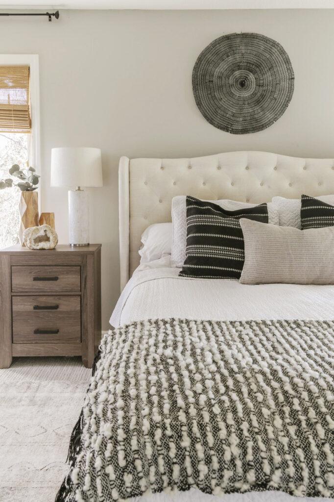 boho chic master bedroom ideas with carpet