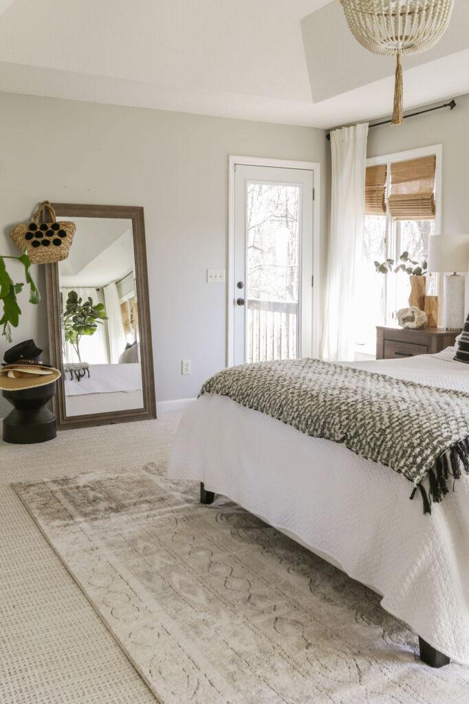neutral boho chic bedroom ideas