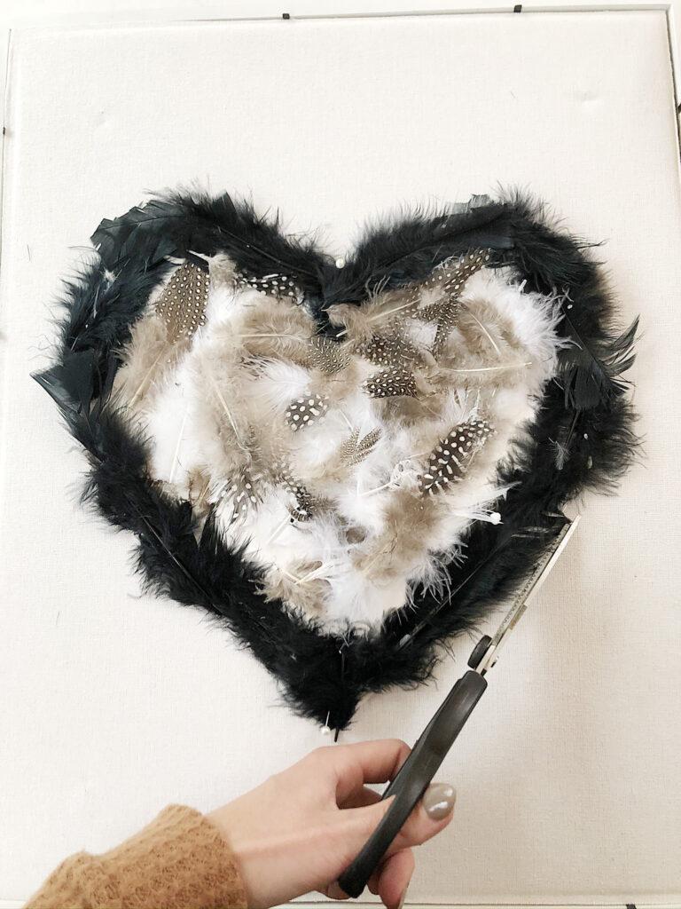 easy valentines day art