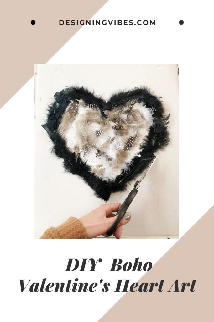 valentines day heart art