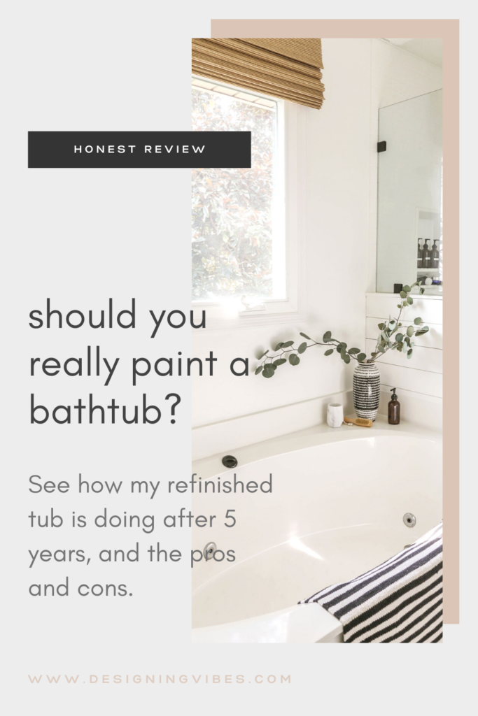 can you really paint a bath tub