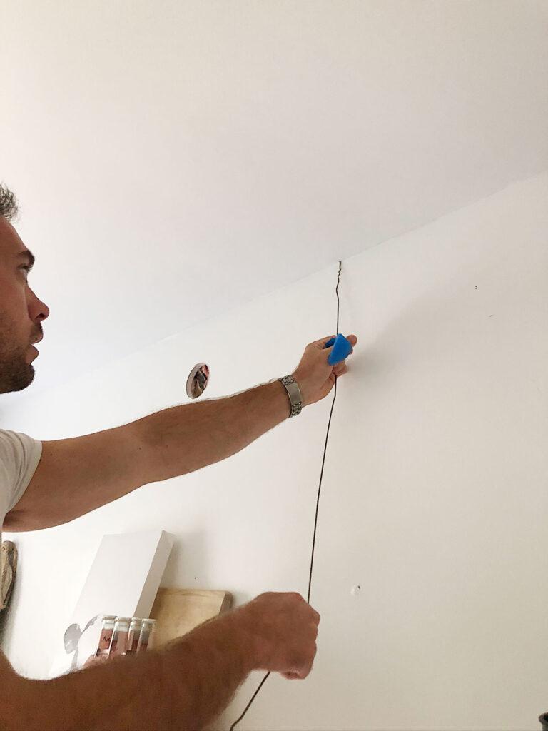 comment câbler une applique murale