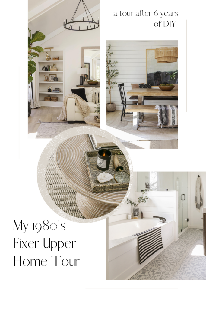 boho chic fixer upper home tour