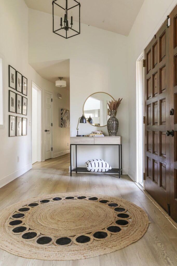 boho neutral foyer ideas