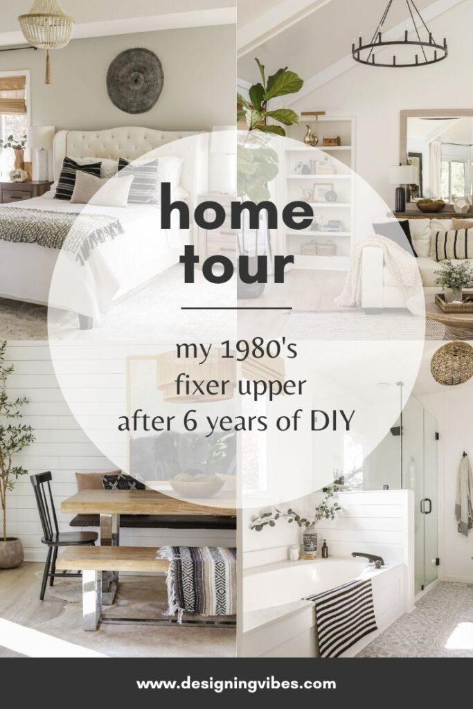 my fixer upper home tour