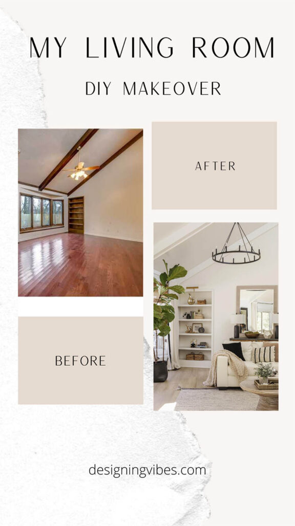 boho chic living room transformation on a diy budget