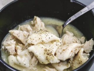 low carb chicken and dumplings recipe