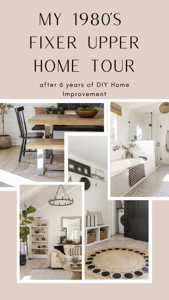 boho chic meets modern farmhouse home tour
