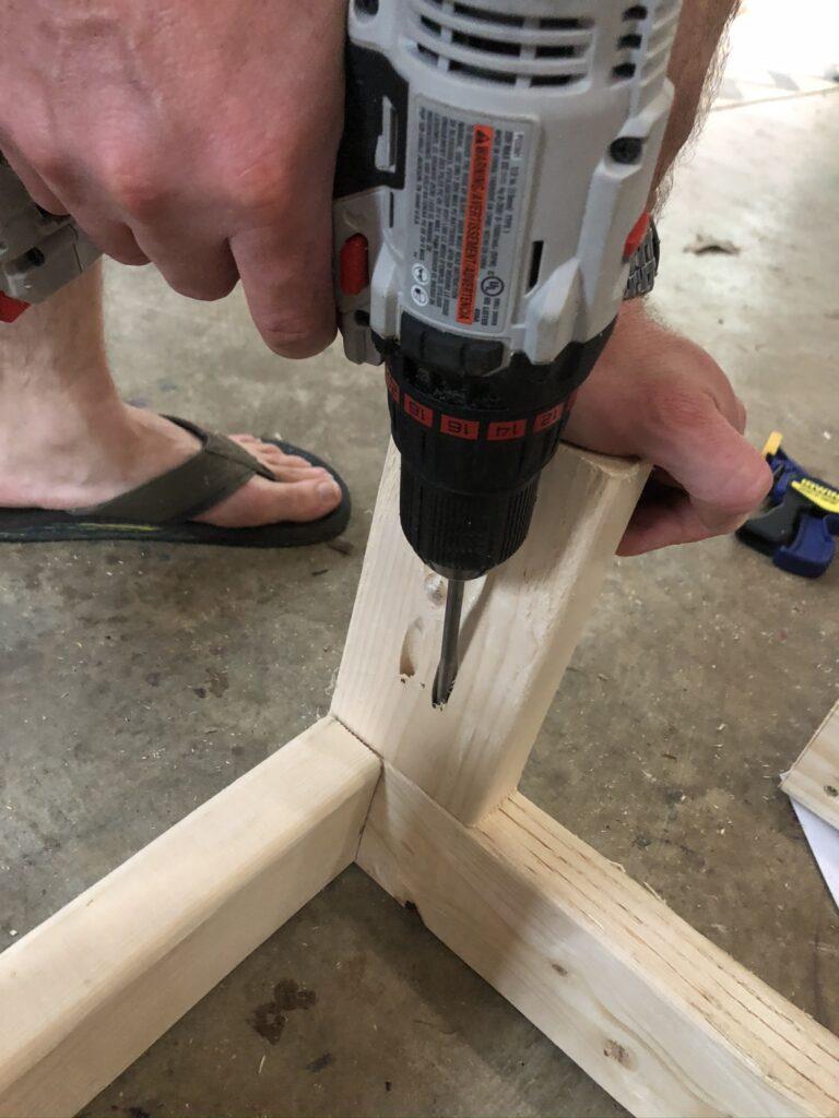 diy storage bench on wheels tutorial