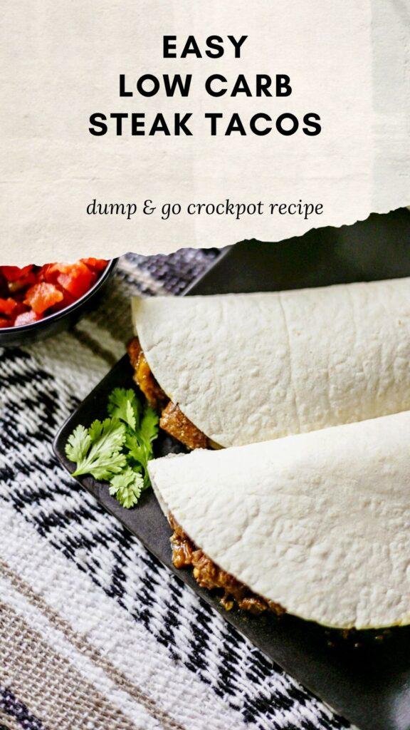 low carb steak wrap recipe in crockpot