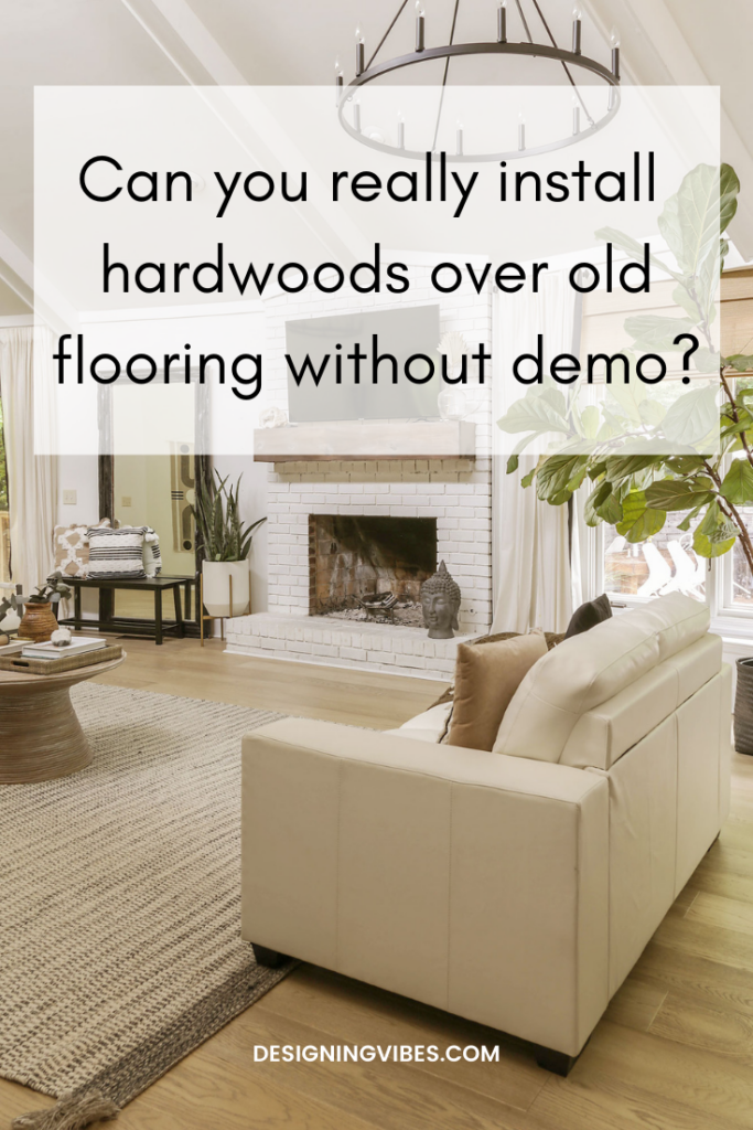 an honest review of my floating hardwoods installed over old floors