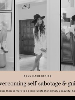 tips for deailing with self sabotage