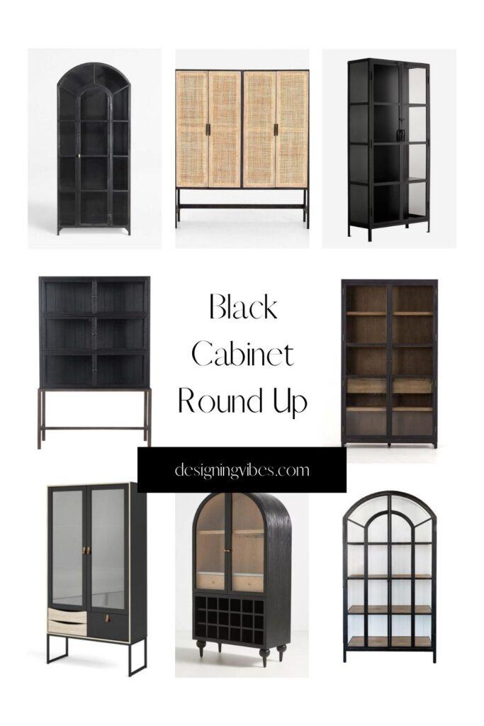 black china cabinets