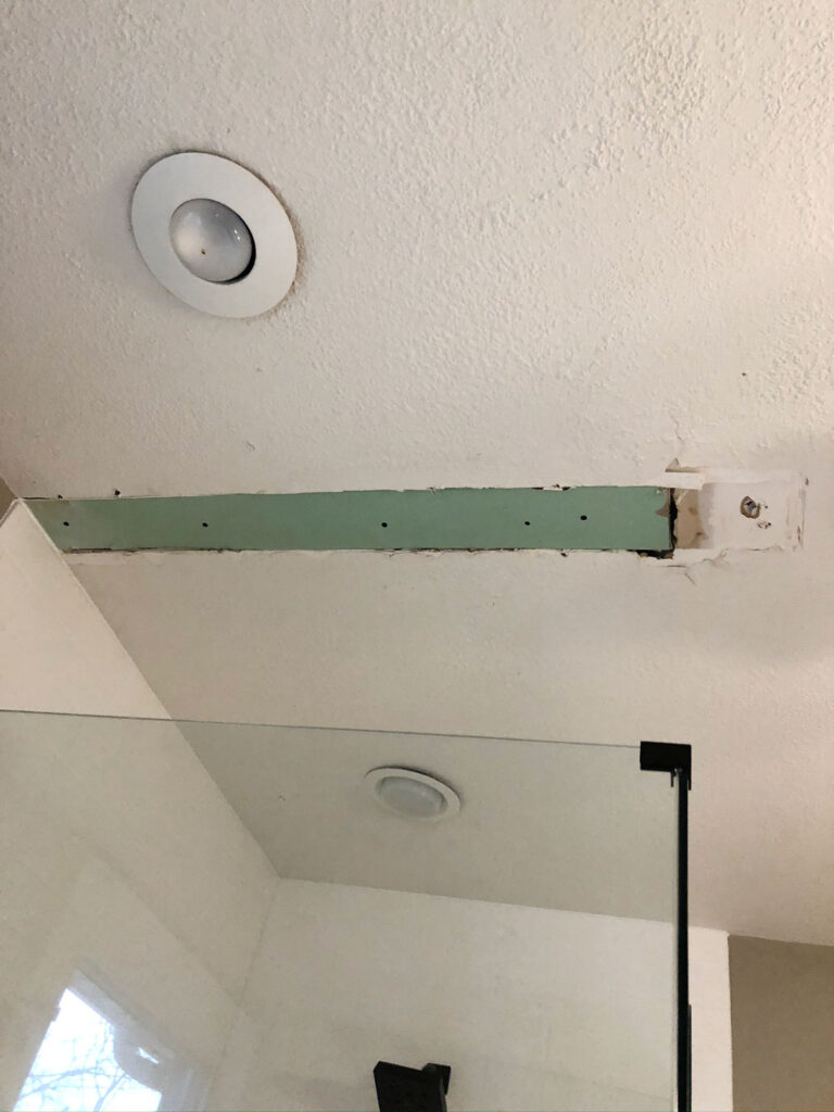 tutorial for how to patch popcorn ceiling
