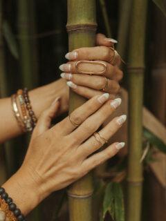 modern minimal nail designs