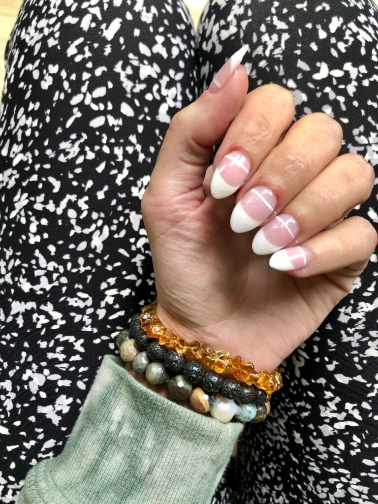 boho chic nail design ideas