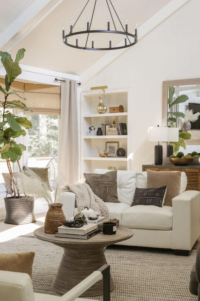 neutral modern fall decor inspiration