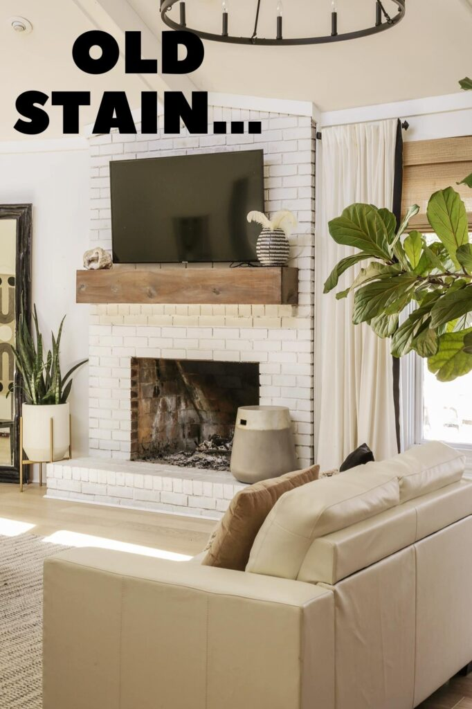 how to stain pine board to look like weathered oak