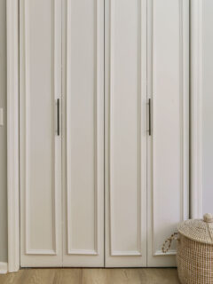 diy closet door transformation cheap